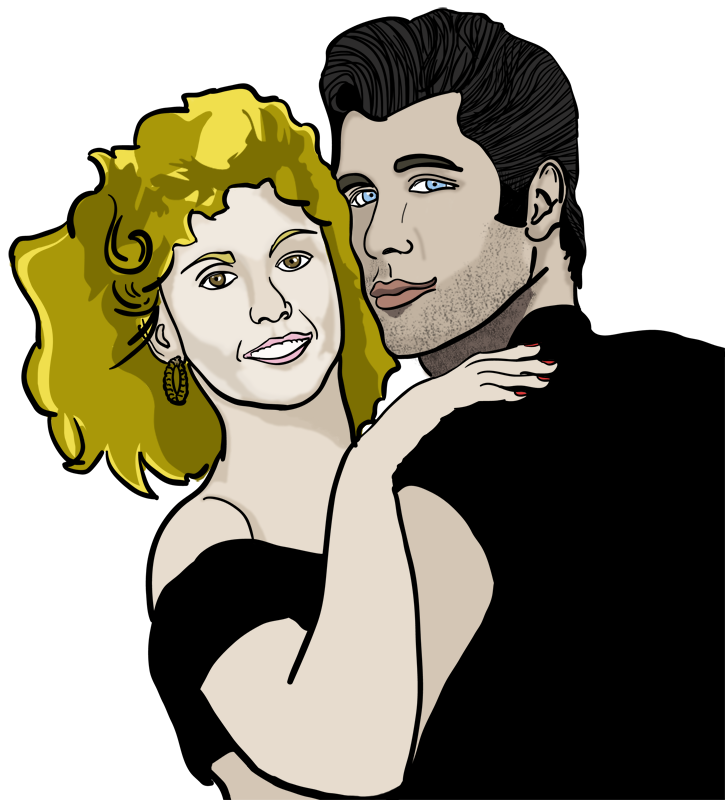 Grease Illustration